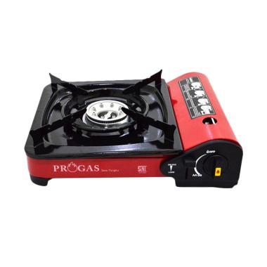 Progas Portable 2in1 Kompor Gas - Merah