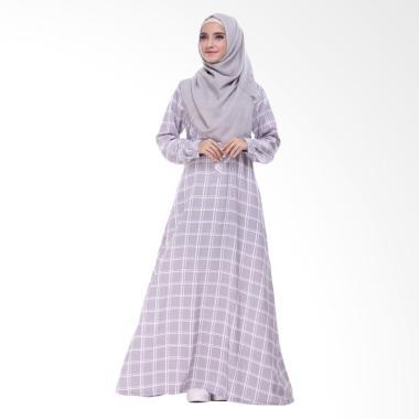 Valisha Squari Dress Muslim - Grey