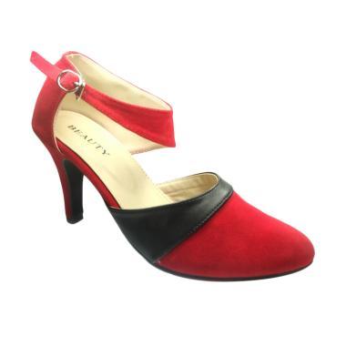 Beauty Shoes Renske High Heels - Red