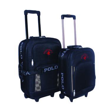 Polo Vesta Set Koper - Black [16 dan 20 Inch]