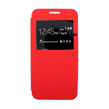 Ume Flipcase Flip Cover Casing for Oppo Neo 5 R121001 - Merah