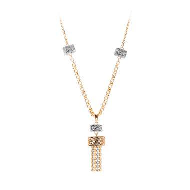 Lampion Gold Necklace -  Kalung Emas Kadar 75