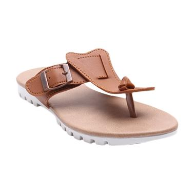 Dr.Kevin 57010 Leather Women Sandals - Tan