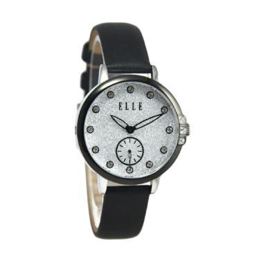 Elle EL20392S02C Jam Tangan Wanita - Hitam Silver