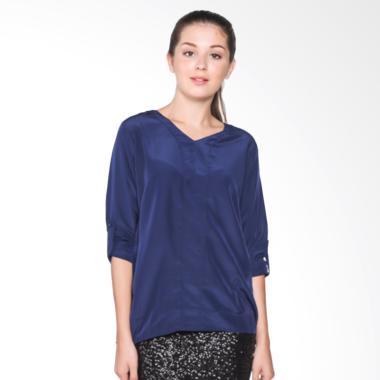 Fashion Mamamia Collection Xara Blouse - Navy