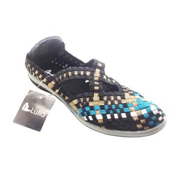 Lulia VS3219 Sepatu Rajut Wanita - Multicolor