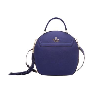 Bonia Basic Sonia Bag L Tas Wanita - Dark Blue