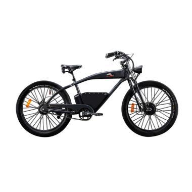 Italjet DiablOne Sepeda Listrik - Black