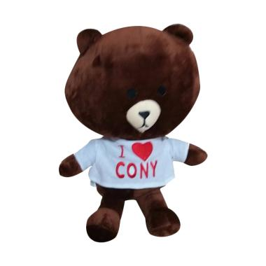 Nicola Brown Bear Line with Shirt Boneka. Rp 57.500. Line Cony Detective Original  LINE Friends Plush Doll. 0f437dd459