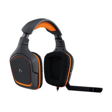 harga Logitech - G231 Prodigy Gaming Headset with Unidirectional Mic [981-000629] Blibli.com