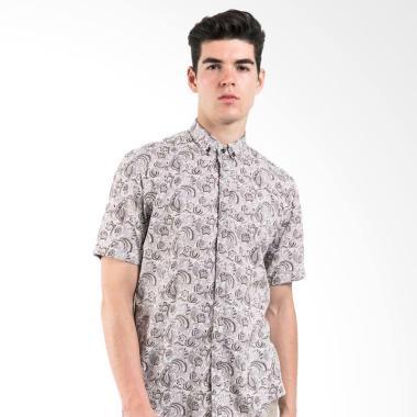 Manly Noula Slim Fit Pattern Shirt