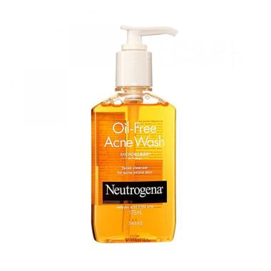 Neutrogena Oil Free Acne Wash [175 mL]