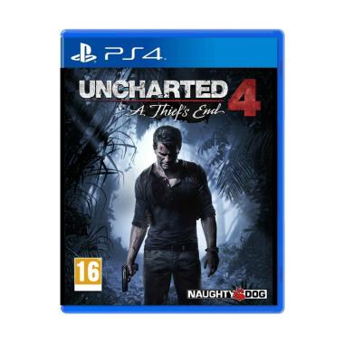 Sony PS4 Uncharted 4 A Thief's End DVD Game