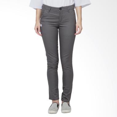 Cany Chino Basic Women Celana Panjang - Grey