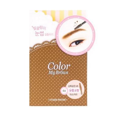 Etude Color My Brows Eyebrows Mascara - 4 Natural Brown