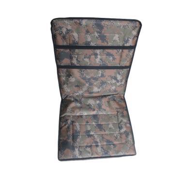FOLKS Kursi Santai Lipat (1 Pasang) - Motif Army