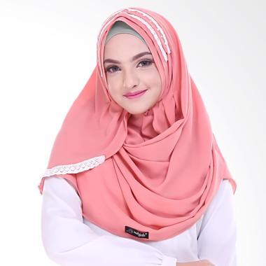Nuhijab Aufa Shawl Jilbab Instant - Peach