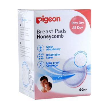 Pigeon Honeycomb Breast Pads [66 Pcs] PR030503