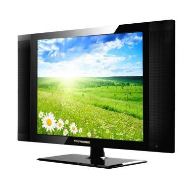 Polysonic 15A858i LED TV - Hitam [15 Inch]