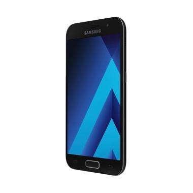 Samsung A3 2017 SM-320 Smartphone - Black [16GB/ 2GB]