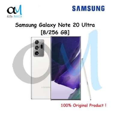 Samsung Galaxy Note 20 Ultra [8/256 GB] Garansi Resmi SEIN Mystic White