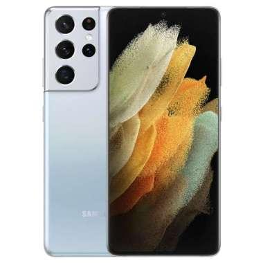 Samsung Galaxy S21 Ultra 5G Smartphone [ Ram 12GB / Rom 128GB ] - Garansi Resmi SEIN Phantom Silver