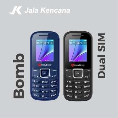 harga Strawberry Bomb S5 Handphone [Dual SIM/ Radio FM] Garansi Resmi Black Blibli.com