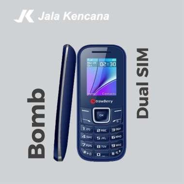 harga Strawberry Bomb S5 Handphone [Dual SIM/ Radio FM] Garansi Resmi Blue Blibli.com