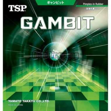 harga TSP Gambit - Rubber Karet Pingpong Tenis Meja Hitam Blibli.com