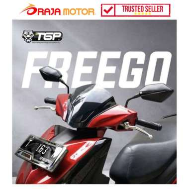 harga TGP Visor for Yamaha Freego - Riben - Aksesoris Motor HITAM Blibli.com