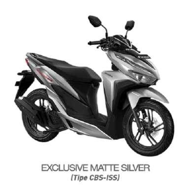 harga SEPEDA MOTOR HONDA VARIO 150 HW4 EXCLUSIVE SILVER Blibli.com