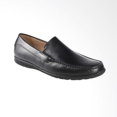 Ecco Dallas MOC Sepatu Pria - Black ECC57010401