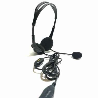 harga Headset Initio USB H560 with Noise Cancelling Microphone Blibli.com