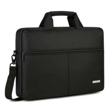 harga Tas Laptop Macbook BRINCH Selempang Messenger Bag 13 - 14 inch Hitam Blibli.com