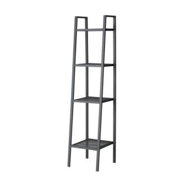 IKEA Lerberg Unit Rak - Abu-abu [Lebar 35 cm/ 4 Susun]