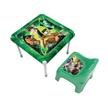 Naiba BEN 10 Set Meja dan Kursi Anak