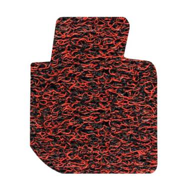 Comfort Karpet Mobil for Honda Jazz - Red Black [Kabin&Bagasi]