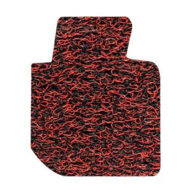 Comfort Karpet Mobil for All New Toyota Yaris - Red Black [Bagasi]