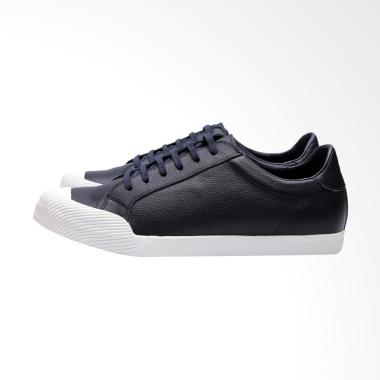 Edition Premium Casual Leather Sneakers - Navy