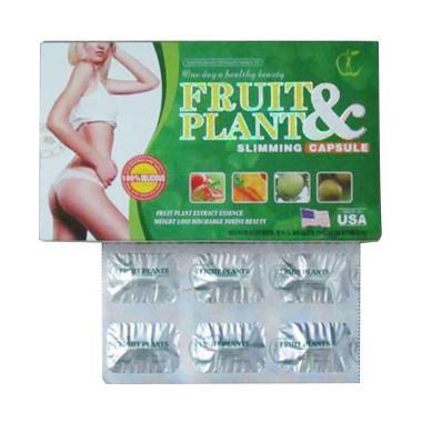 Fruit Plant Pelangsing Badan Original 30Kapsul