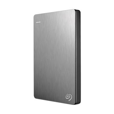 Seagate Backup Plus Slim HDD External - Silver [2TB]