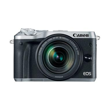 Canon EOS M6 Kit 18-150mm Kamera Mirrorless - Silver