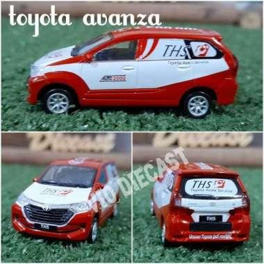 harga Diecast Miniatur Toyota Avanza 2016 skala 1:64 Blibli.com