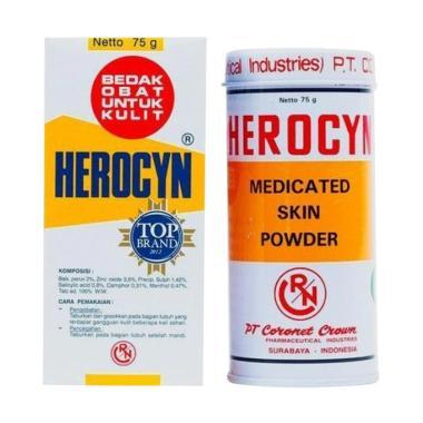 Herocyn Bedak Obat Untuk Kulit - 75gr