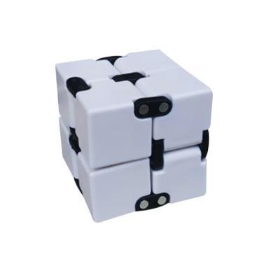 infinity cube. tmo fidget infinity cube - putih