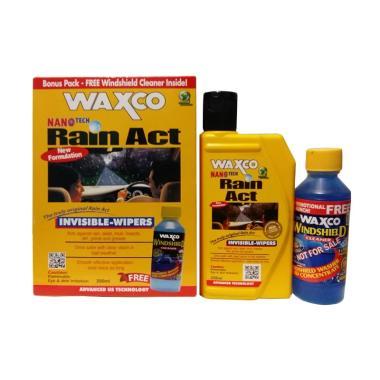 Waxco Rain Act & Windshield Cleaner ... pellent / Invisible Wiper