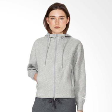 adidas Yoga Hoodie Jacket Olahraga Wanita - Grey Heather AZ3899