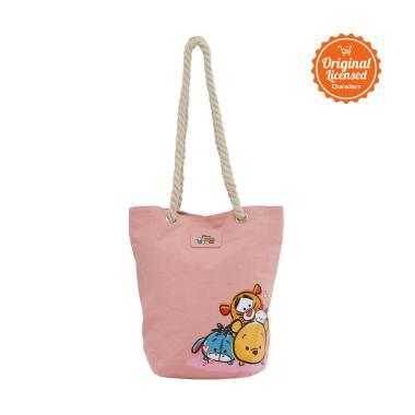 Disney Tsum Tsum Lambert Tote Bag - Pink