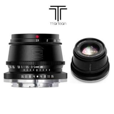 TTArtisan 35mm F1.4 APS-C for FujiFilm FX-mount