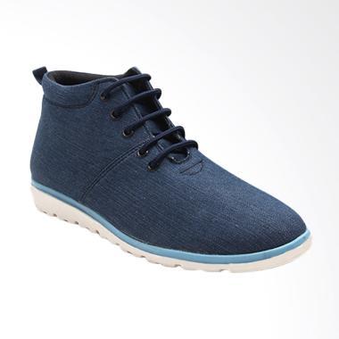 Dr.Kevin Men Casual Boot Sepatu Sneaker - Navy 1042